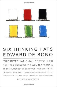 Great Business Books Six Thinking Hats by Edward DeBono