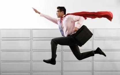 Customer care superhero